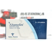 "Altamofen ""Alpha Pharma"" (50tab/20mg) (срок 04.2018)"