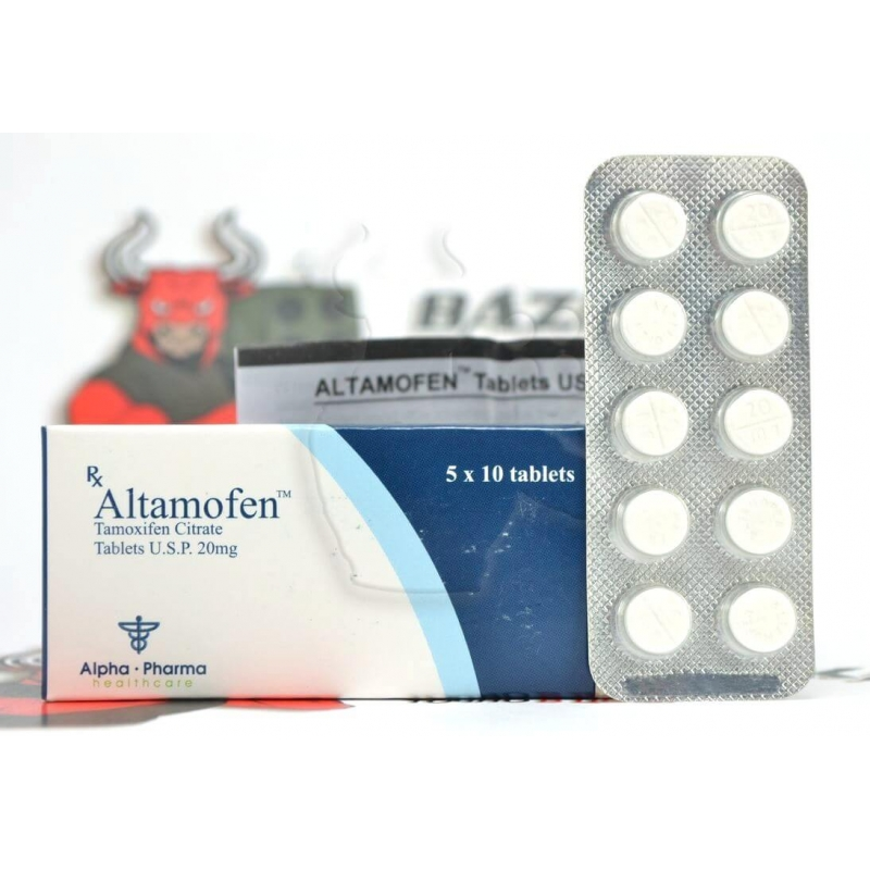 "Altamofen ""Alpha Pharma"" (10tab/20mg) (срок 04.2018)"