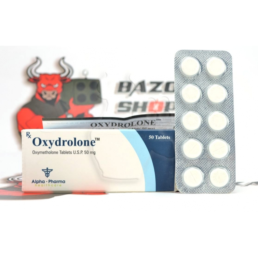 "Oxydrolone ""Alpha Pharma"" (10tab/50mg) (срок 06.2017)"