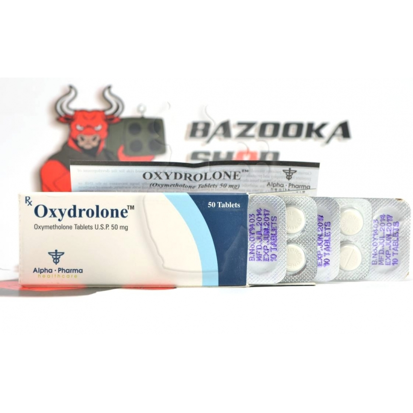"Oxydrolone  ""Alpha Pharma"" (50tab/50mg) (срок 06.2017)"