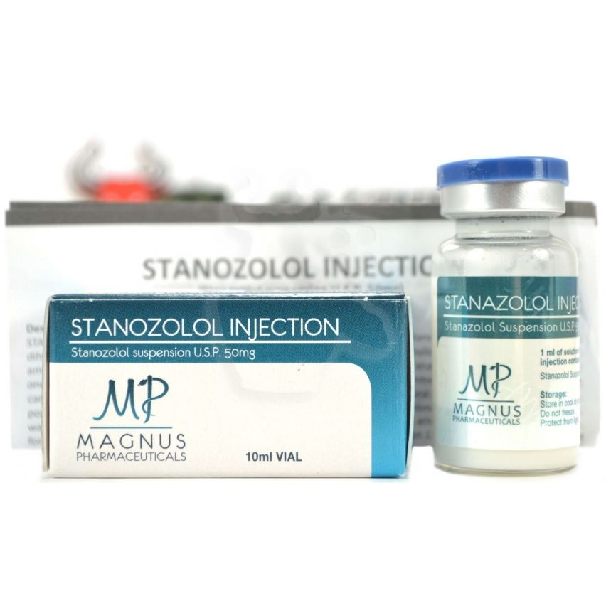"Stanozolol Injection ""Magnus"" (10ml/50mg)"