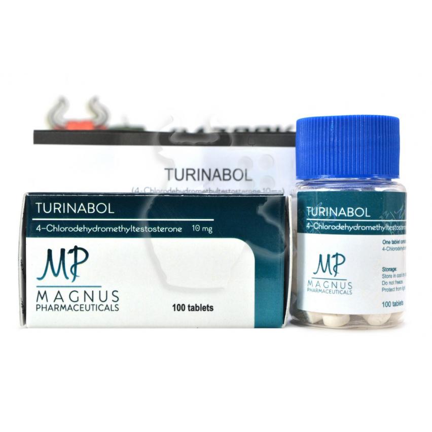 """Turinabol """"Magnus"""" (100tab/10mg)"""
