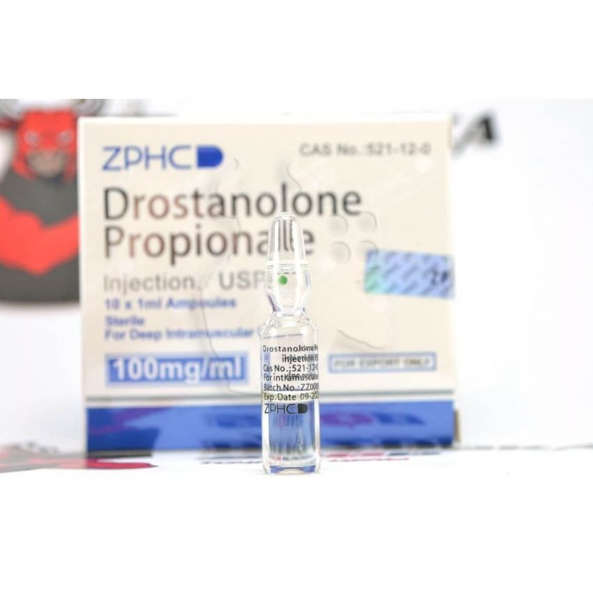 "Drostanolone Propionate ""ZPHC"" (1ml/100mg)"