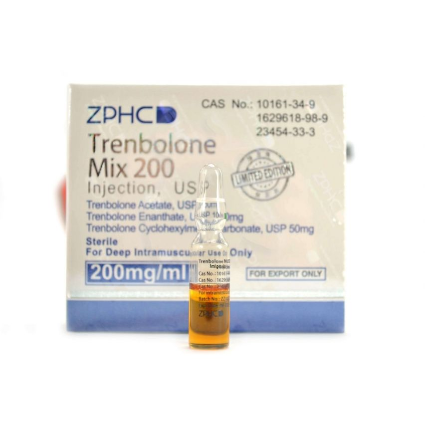 Mix of 3 Trenbolones ZPHC (1ml/200mg)
