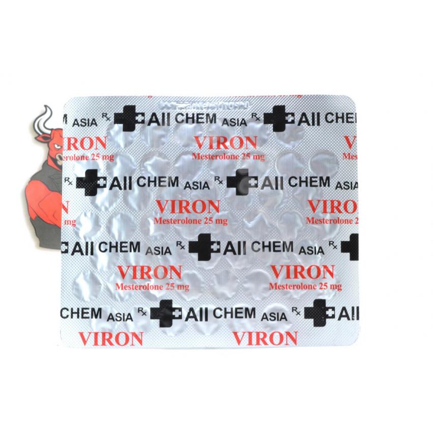"""Viron """"AllChem ASIA"""" (50tab/25mg)"""