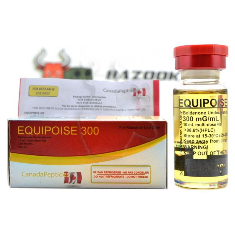 """Equipoise 300 """"Canada Peptides"""" (10ml/300mg)"""