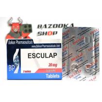 """Esculap """"Balkan"""" (1tab/20mg)"""
