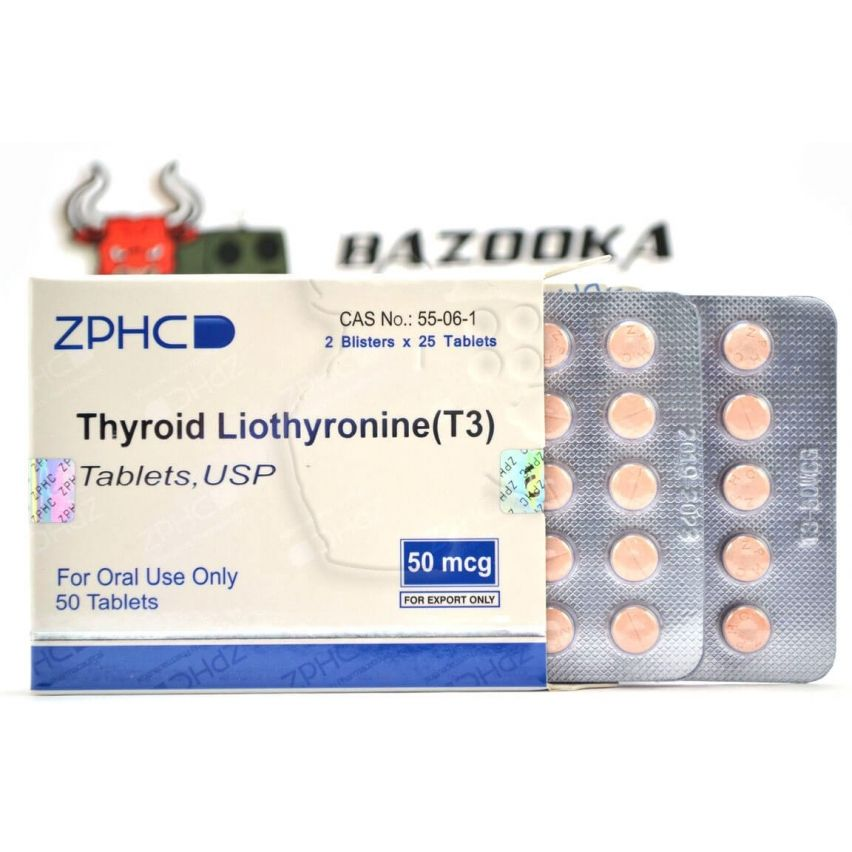 "Thyroid Liothyronine ""ZPHC"" (50tab/50mcg)"