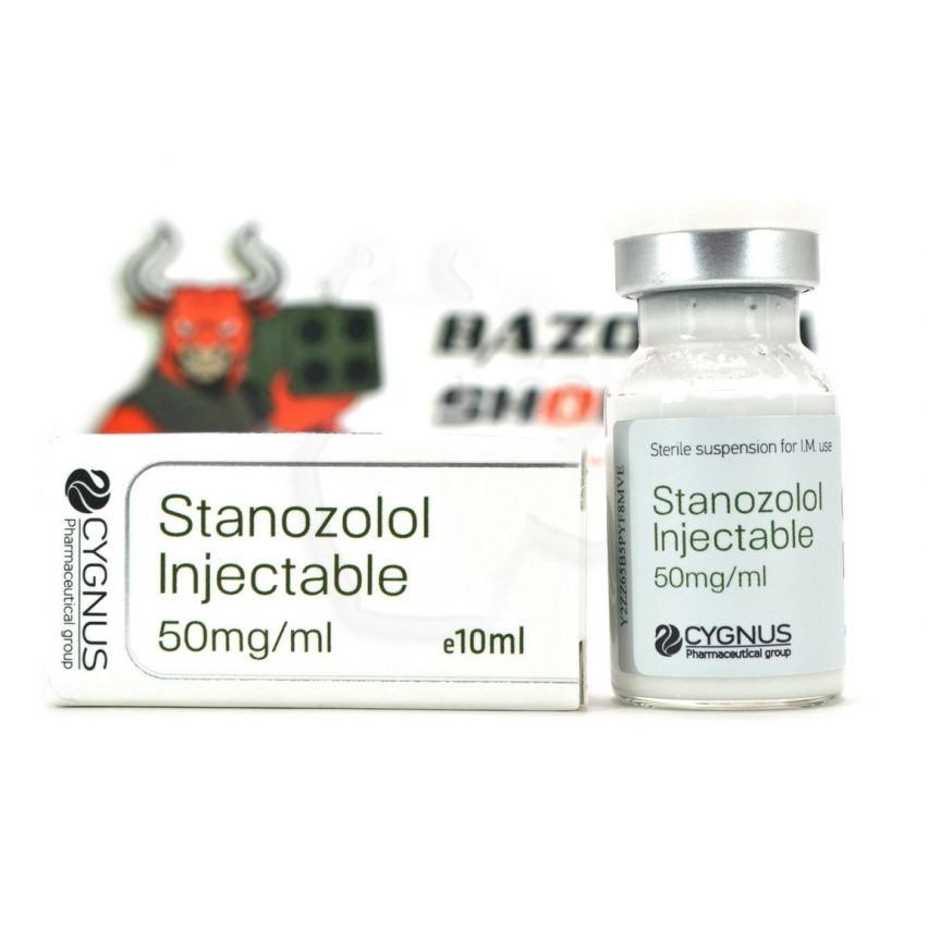 "Stanozolol Injectable ""Cygnus"" (10ml/50mg)"