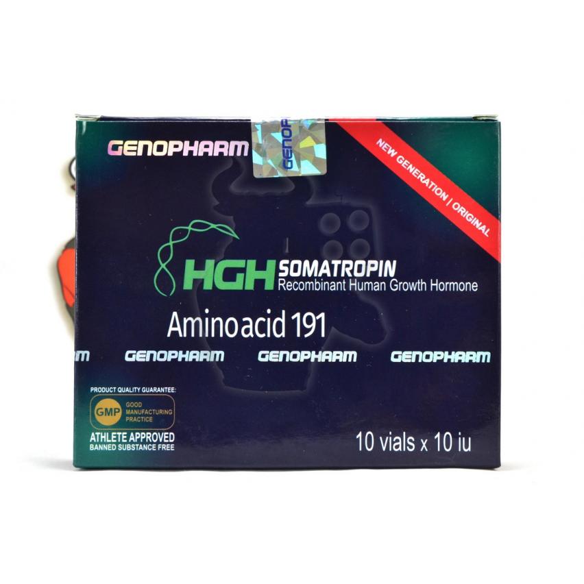 "HGH Somatropin ""GenoPharm"" (100ЕД)"