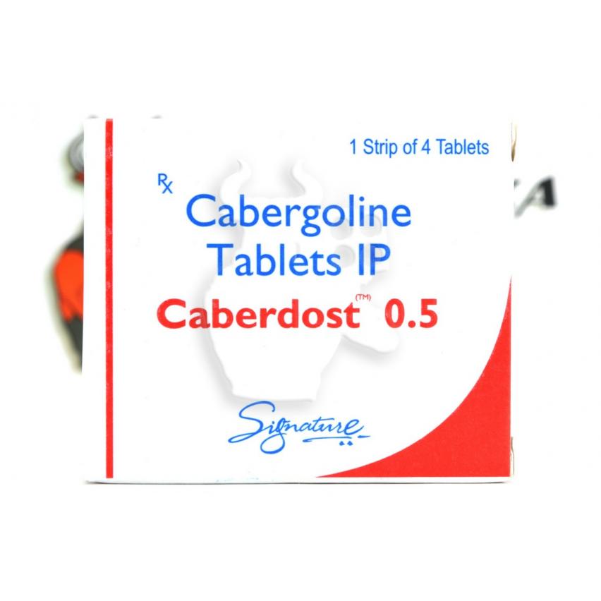 "Caberdost ""HAB Pharmaceuticals"" (4tab/0.5mg)"