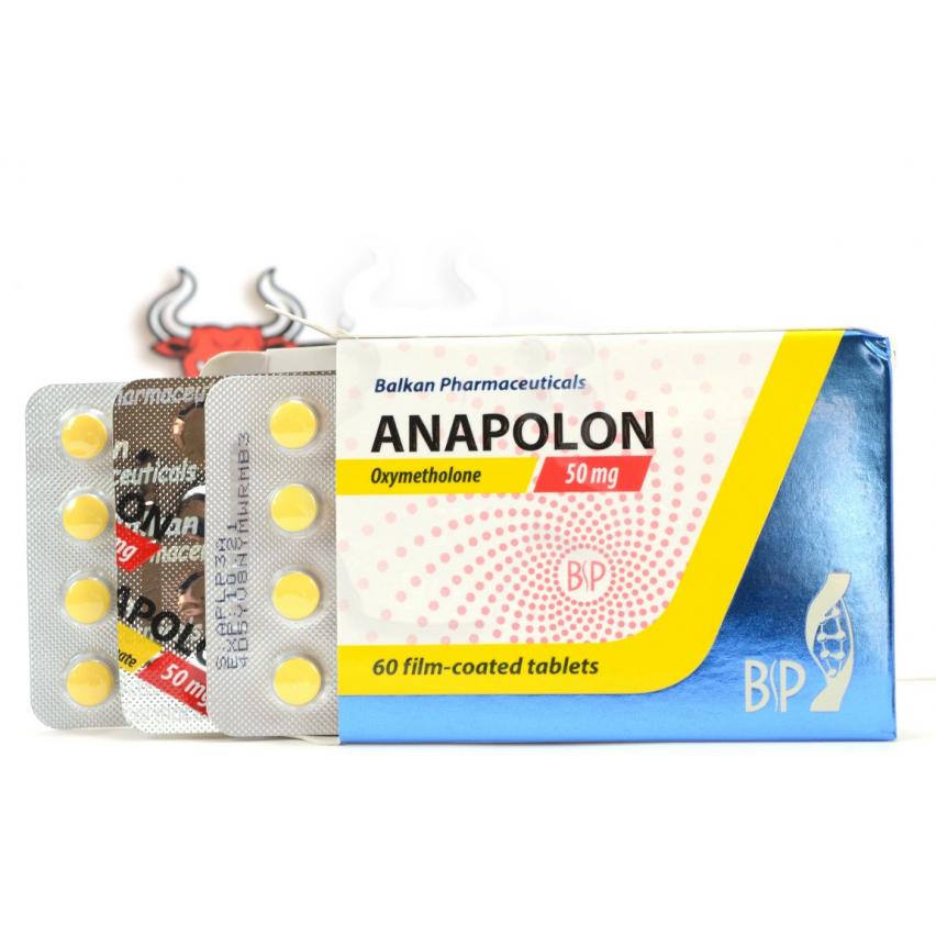 """Anapolon """"Balkan"""" (60tab/50mg)"""