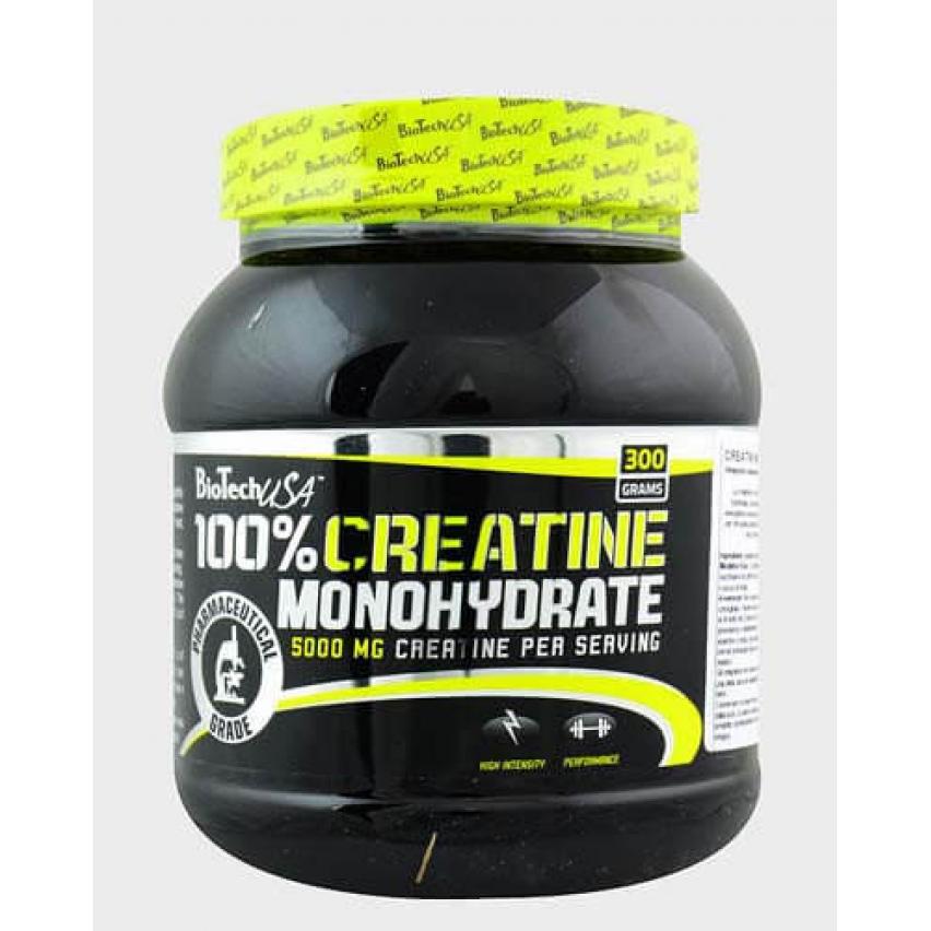 "100% Creatine Monohydrate ""BioTech"" (300g)"