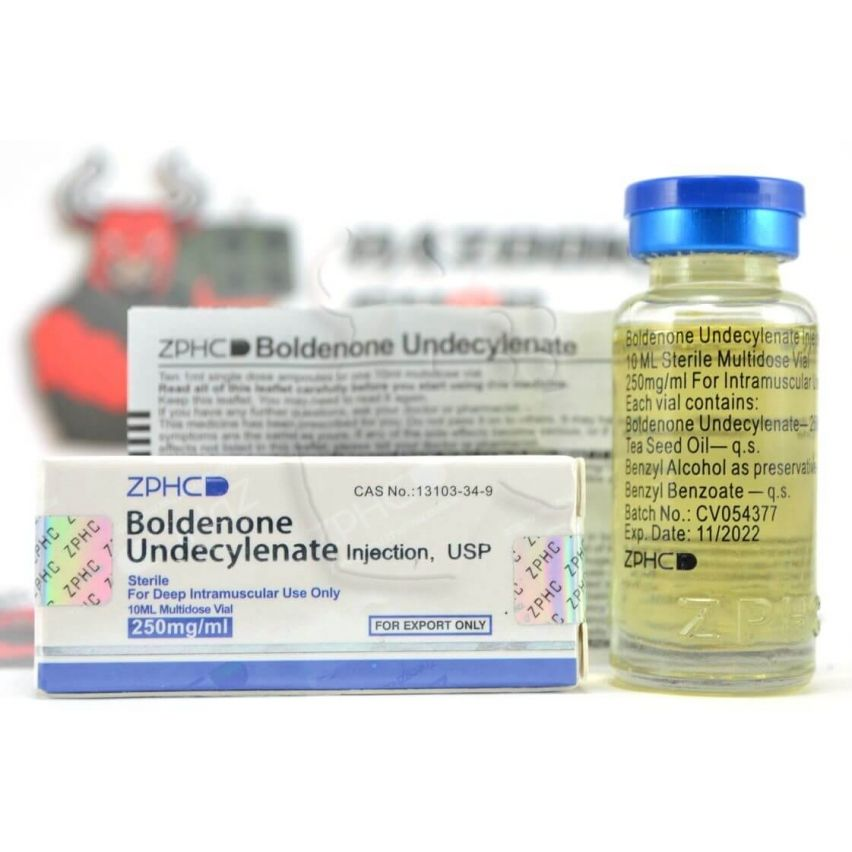 "Boldenone Undecylenate ""ZPHC"" (10ml/250mg)"
