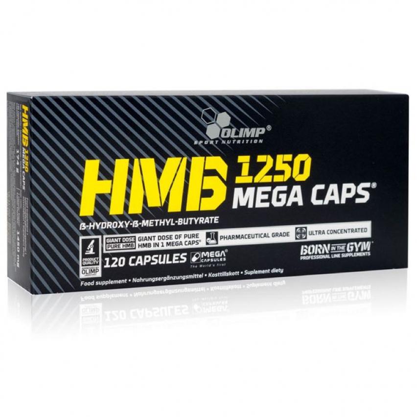"""HMB Mega Caps """"Olimp Labs""""  (120 caps/1250mg)"""