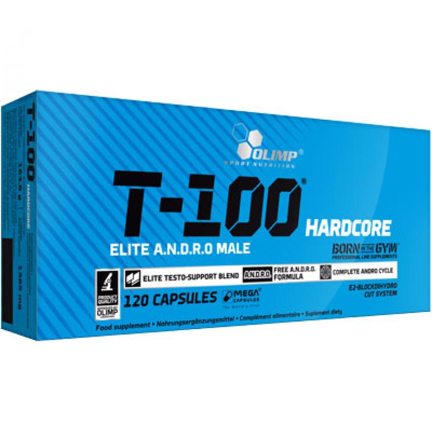 """T-100 Hardcore """"Olimp Labs"""" (120cap)"""