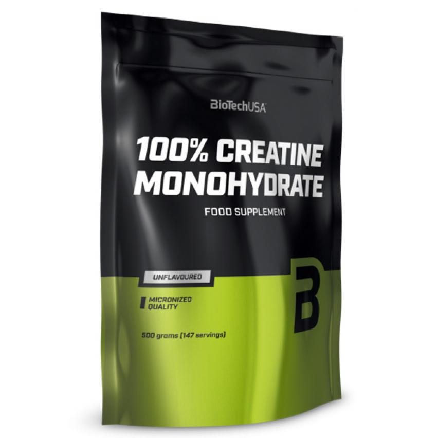 "100% Creatine Monohydrate ""BioTech"" (500g)"