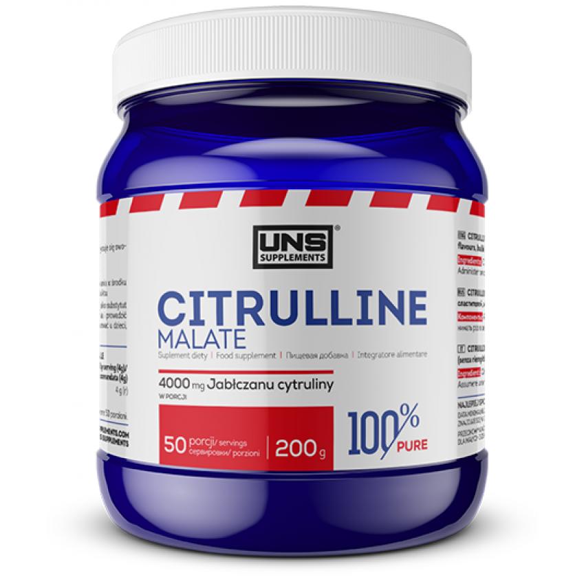 """Citrulline Malate """"UNS"""" (200g/4000mg)"""