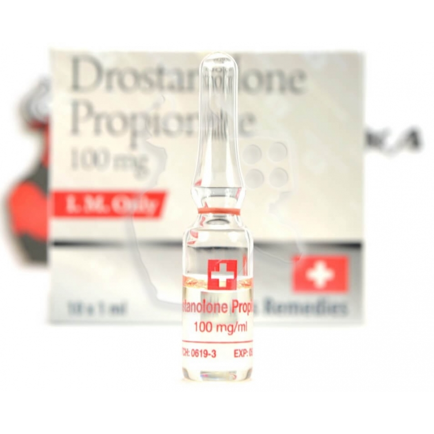 "Drostanolone Propionate ""Swiss Remedies"" (1ml/100mg)"