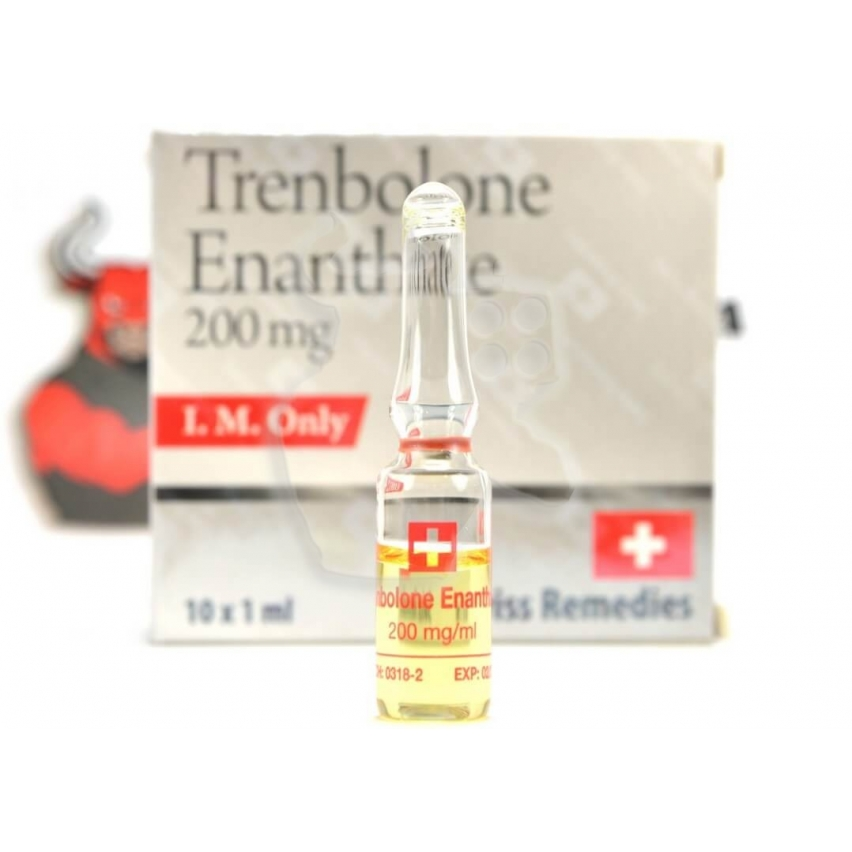 "Trenbolone Enanthate ""Swiss Remedies"" (1ml/200mg)"