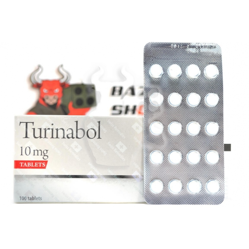 "Turinabol ""Swiss Remedies"" (20tab/10mg)"