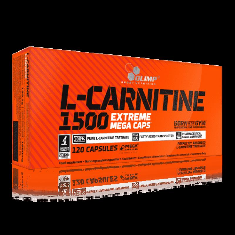 """L-Carnitine 1500 Forte Plus """"Olimp Labs"""" (120 caps)"""