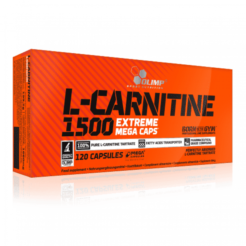 "L-Carnitine 1500 Forte Plus ""Olimp Labs"" (120 caps)"