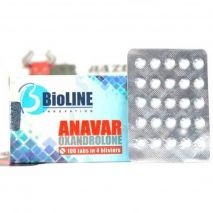 "Anavar ""BioLINE Innovation"" (25 tab/10mg)"