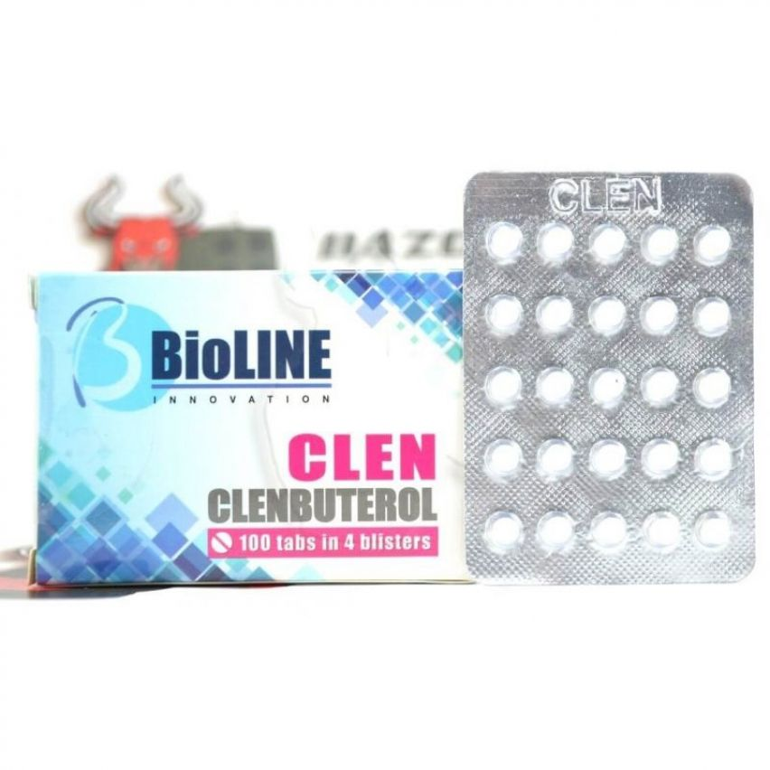 "Clen ""BioLINE Innovation"" (25 tab/40mcg)"