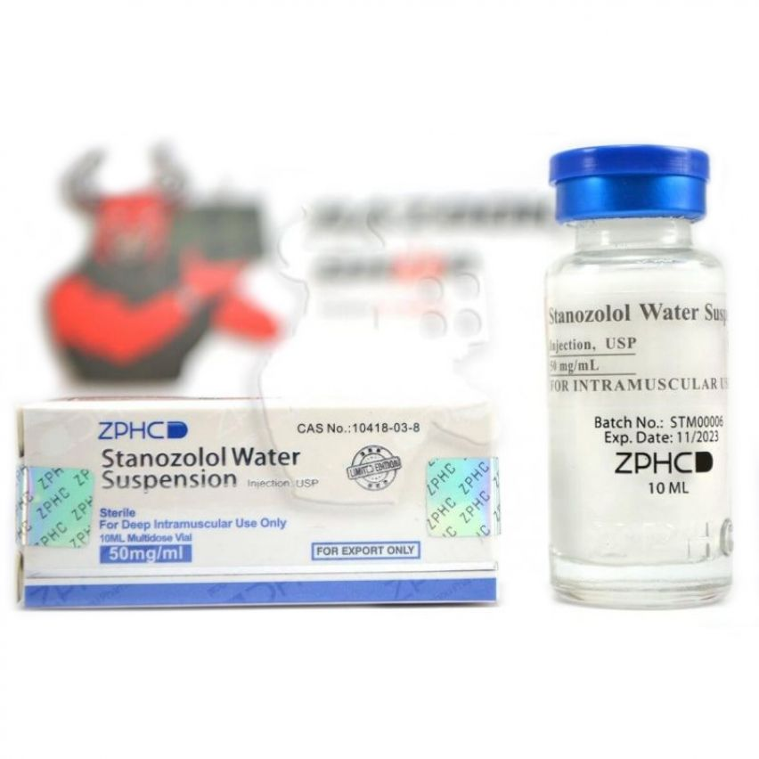 "Stanozolol Suspension ""ZPHC"" (10ml/50mg)"